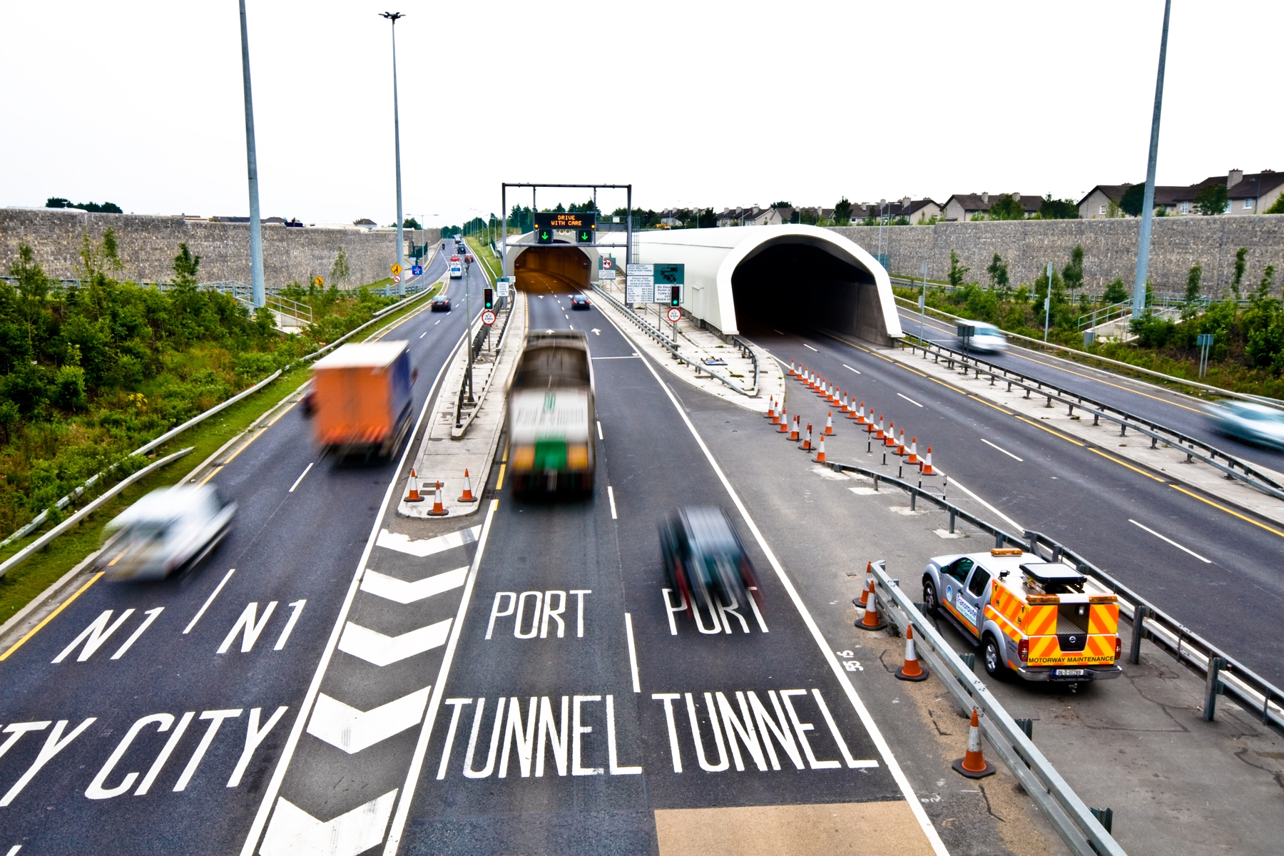 Dublin Port Tunnel Concerns Over Motorist Safety