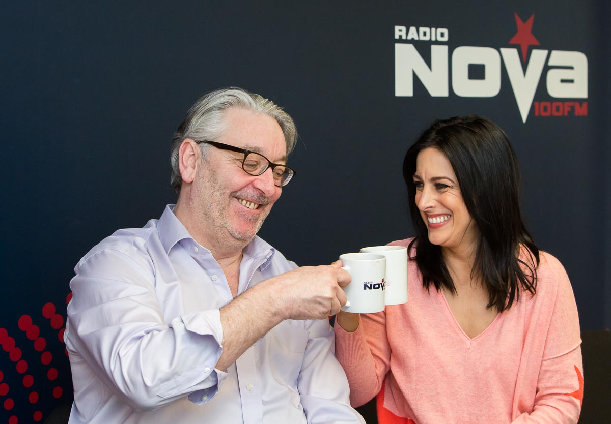 Colm Hayes and Lucy Kennedy reunite for a new breakfast show on Radio Nova.