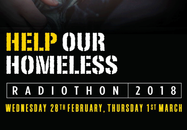 Radio Nova Help Our Homeless Radiothon