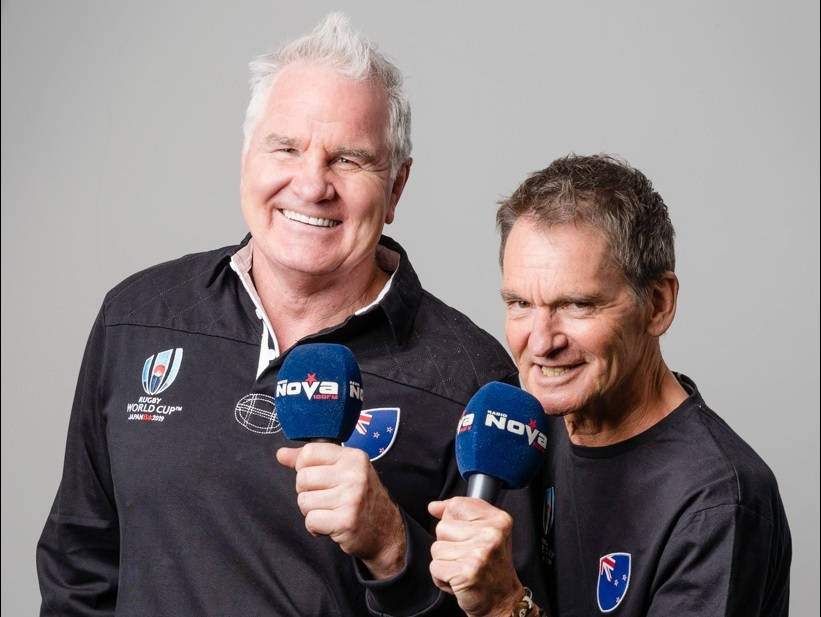 Pat Courtenay & Brent Pope - Live @ 5 Rugby