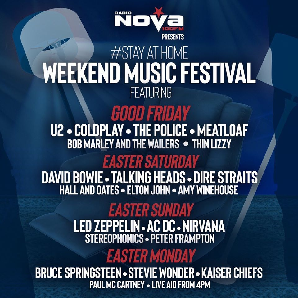 Radio Nova's Stay At Home Music Festival